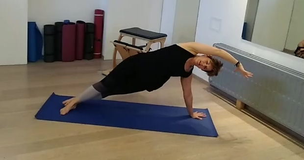 FaceBook Live Pilates Mat